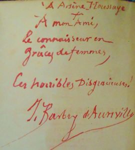 Barbey d'Aurevilly misogyne