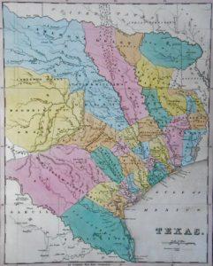 Atlas Tanner. République du Texas