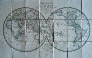Brué Planisphère