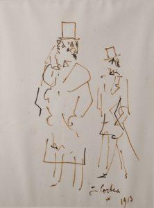 Cocteau Diaghilev et Nijinski