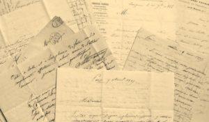 V. Considerant. Correspondance intime. Lettres autographes signées.