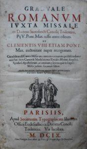 Graduel Paris 1609