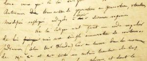 Flaubert manuscrit de jeunesse