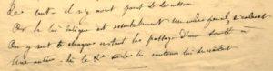 Flaubert manuscrit de jeunesse inédit
