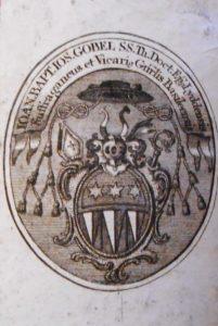 Gobel Alsatia Diplomatica annotée de sa main