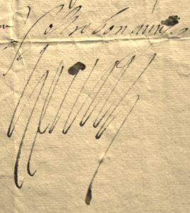 Henri III. alors roi de Pologne. Signature autographe