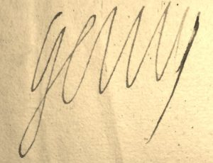 Henri IV. Signature autographe