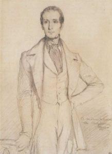 Lamartine en 1844 par Chassériau