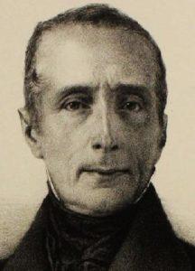 Lamartine en 1849. Litho par Maurin (détail)