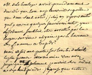 Ledoux lettre d'architecte