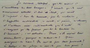 Lemaitre. Manuscrit antimaçonnique.