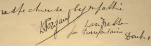 Pergaud Landresse 1906