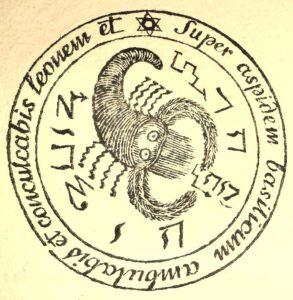 La Véritable Magie noire. 1750. Pentacle.