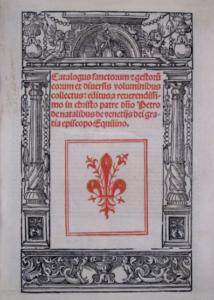 Sacon de Lyon pour Giunta de Venise