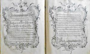 Prochaska. Lettres de noblesse.