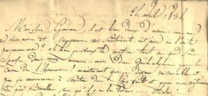 Raousset-Boulbon. Correspondance autographe.