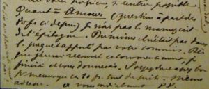 Verlaine. Carte autographe signée adressée à Léon Vanier.