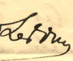 Vigée-Lebrun; Signature