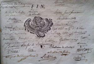 Code Maçonique R.E.R. La Concorde. Dijon. 1778.